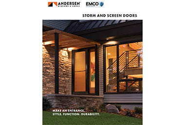 Installation Resources Andersen Emco Storm Doors