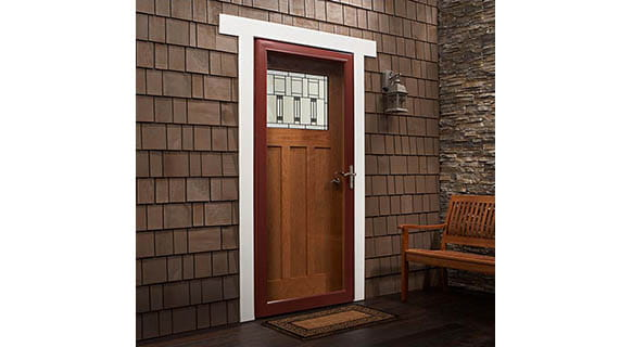 full light storm door
